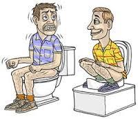 JuisteOntlastingHoudingCartoon WC-Voetsteun - Natuurlijk gezond - Santura