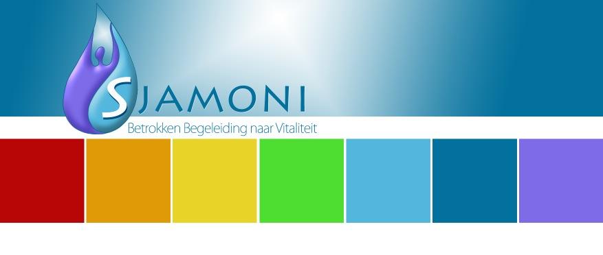 logometblokjes Historie, Sjamoni  - Natuurlijk gezond - Santura